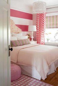 Modelos de Dormitorios o Habitaciones para Chicas Jóvenes y Lindas : Infantil Decora