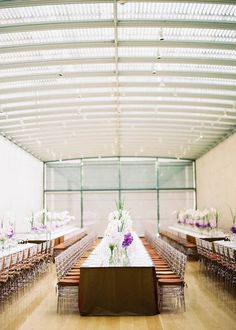 Contemporary Event Design in Gallery - Event designed by Easton Events - Wedding Planners with offices in Charleston, SC and Charlottesville, VA photo by Ryan Ray