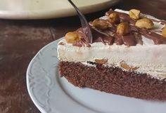 Απίστευτη τούρτα παγωτό σοκολάτα καραμέλα πάααρα πολύ εύκολη !!! Φτιάξτε την θα σας ξετρελάνει !!!!