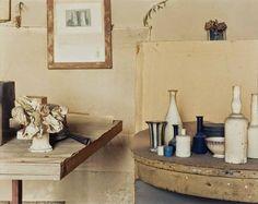 Bologna, Studio of Giorgio Morandi (foto Luigi Ghirri)