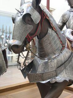 Ornate horse Armour