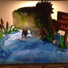Bass Fish Cake via Craftsy