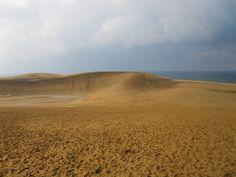 The dunes on the Japan Sea, Tottori