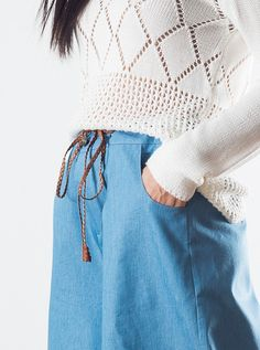 Oversize 3/4 Pants