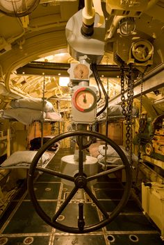 U-505 Submarine, Aft Torpedo Room      I remember when Dad and I went to see this