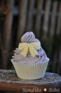 Snowflake Atelier Badecupcake Lavendel