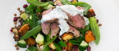 Free 12WBT Recipe: Warm Lamb, Pumpkin & Pomegranate Salad