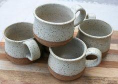 rustic coffee cup expresso cup demitasse tea by earthformsbymarie