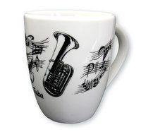Tasse Tuba  ♫♪ ☕ www.musiker-geschenke.com/Tassen