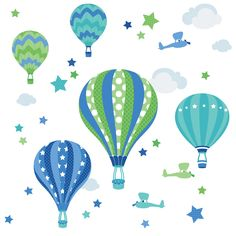 baby- und kinderstoff aus bio-baumwolle mit punkten in hellblau ... - Kinderzimmer Grun Und Blau