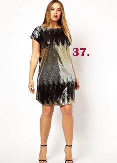The Curvy Fashionista | shift-dress-in-sequin
