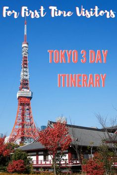 Tokyo Itinerary for First Time Visitors | Tokyo | Japan | Asia | Travel Tips | Luxurycolumnist | Luxury Blog