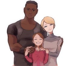Luther, Kara and Alice ❤️
