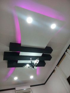 Modern False ceiling designs are an excellent option to add another design element to your projects. Drawing Room Ceiling Design, Simple False Ceiling Design, Plaster Ceiling Design, Gypsum Ceiling Design, Interior Ceiling Design, House Ceiling Design, Ceiling Design Living Room, Ceiling Light Design, Modern Ceiling