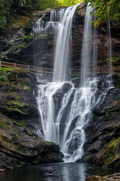 Dry Falls, Highlands, NC #waterfall #water #NCWaterfalls