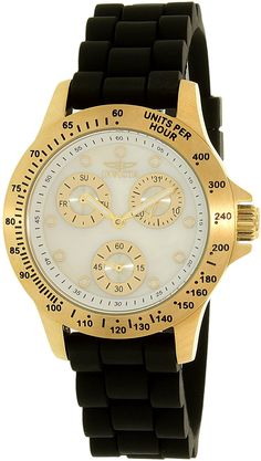 Invicta Women's 21973 Speedway Quartz Chronograph White Dial Watch >>> To view further for this watch, visit the image link.
