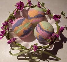 Flower Child Bath Bombs by CindleBoutique on Etsy