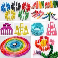 wooden blocks for dominoes/building