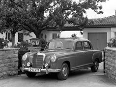 Mercedes-Benz Ponton 220S (W180) 1956-1959 vue AV - photo Mercedes-Benz | Auto Forever