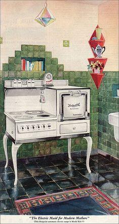 1929 Hotpoint Range by American Vintage Home, via Flickr