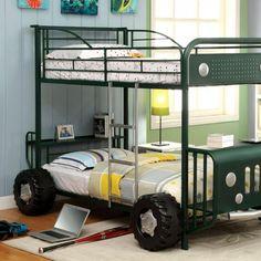 Furniture of America Kids Jeep Twin/Twin Bunk Bed Las Vegas Furniture Online   LasVegasFurnitureOnline   Lasvegasfurnitureonline.com