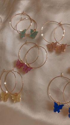 Ear Jewelry, Cute Jewelry, Jewelery, Jewelry Accessories, Jewelry Design, Jewellery Box, Jewellery Display, Jewelry Trends, Women Accessories
