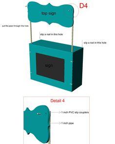 how to build a lemonade stand step 4