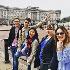 Walking thru London for #wateraid #charity. Next stop #buckinghampalace  Please kindly donate for good cause http://ift.tt/1RXDGys by keenala