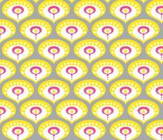 pink grey yellow fabric - Google Search