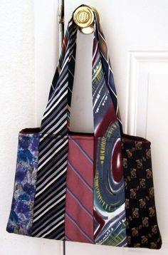 Riciclare le vecchie cravatte