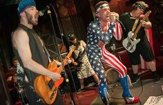 God Bless America, The Mormon Tranny's, Pillow Fight at the Hawthorne Theatre Lounge in Portland, OR on 25-July-2014