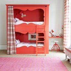Bunk Beds Bed Nook Childrens Bedroom S Decor Ideas