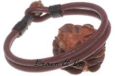 Wristband Men Leather Bracelet.