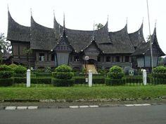 Minangkabau Style Buildings
