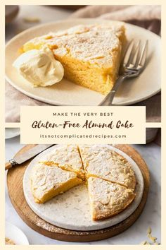 My Easy Gluten-Free Almond Cake is sure to impress! If you think that using a packet mix is the fastest and easiest way to make a cake, this recipe will absolutely change your mind! This is one of the easiest cake recipes ever and it produces amazing results.#easyalmondcake #glutenfrealmondcake #almondcake #easycakerecipes #almondcakerecipes #glutenfreecakerecipes #glutenfreebaking #glutenfree #cravecookconsume #itsnotcomplicatedrecipes