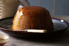 """The proof of the pudding is in the eating,"" Sancho famously said to Don Quixote - this winter, don't waste any time finding out just how good this sticky treat is. Syrup Sponge Pudding, Golden Syrup Pudding, Pudding Desserts, Pudding Recipes, Dessert Recipes, Steamed Pudding Recipe, Proof Of The Pudding, Just Desserts, Xmas Desserts"