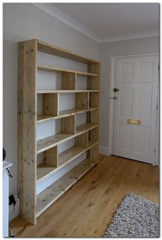 50 Easy DIY Bookshelf Design Ideas for Your Home 20 Easy and Cheap Bookshelf Design Ideas To Increase Your Home Interior DIY Bücherregal Ideen – Wohnaccessoires - WohnaccessoiresDIY Bücherregal Ideen Easy DIY Bookshelf Woodworking Projects Diy, Woodworking Plans, Woodworking Furniture, Woodworking Shop, Woodworking Organization, Intarsia Woodworking, Woodworking Patterns, Woodworking Workshop, Woodworking Classes