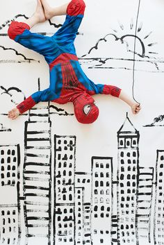 Modern Spiderman Party with a lot of simple, affordable ideas you could translate to other themes | Oh Happy Day