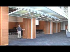 Hydrau-Lift™ Bifold Doors from Hufcor -- Duke University