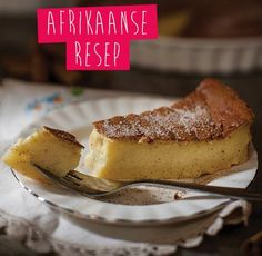 We celebrate National Milk Tart Day! Do you remember Mareli Visser on Koekedoor on Kyknet? Korslose Melktert, Melktert Recipe, Custard Recipes, Tart Recipes, Baking Recipes, Baking Desserts, Baking Ideas, Kos, Easy Microwave Recipes
