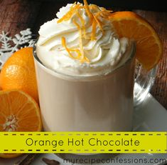 When it is cold outside and you need to warm up, why not do it with a cup of gourmet orange hot chocolate? This hot chocolate can be made in only a few minutes and it only requires 4 ingredients. C...