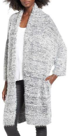 Women's Leith Fluffy Oversize Cardigan