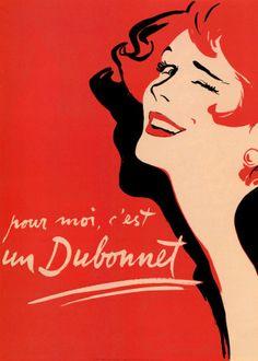 Vintage Art: Dubonnet Art Print