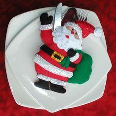Bordados Oma - PROYECTOS PARA ELABORAR Christmas Projects, Christmas Themes, Diy And Crafts, Christmas Crafts, Christmas Ornaments, Christmas Baby, Christmas Holidays, Xmas Table Decorations, Silverware Holder