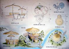 Explore photos on Photobucket. Architecture Model Making, Architecture Concept Drawings, Landscape Architecture Drawing, Architecture Portfolio, Landscape Design, Interior Design Presentation, Architecture Presentation Board, Interior Design Sketches, Sketch Design