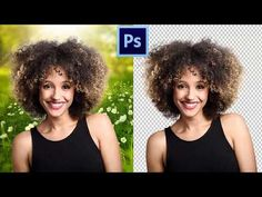 Remove complex background by REFINE EDGE & QUICK SELECTION (Bangla) | Adobe Photoshop Tutorial - 6 - YouTube