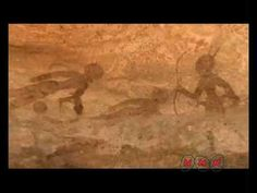 Tassili n'Ajjer (UNESCO/NHK). Video, 2:12. Relates to Running horned woman. Tassili n'Ajjer, Algeria. 6000–4000 B.C.E. Pigment on rock.