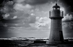 """lighthouse"" by monica falconi, via 500px."