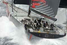 2015 Sydney Hobart by Andrea Francolini:Comanche just 2.6nm behind Rambler 88 and gained 2nm an hour. (Did not race in 2016 SH.)