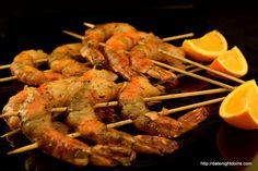 Orange Ginger Shrimp Ken brought home some jumbo shrimp on the same ...